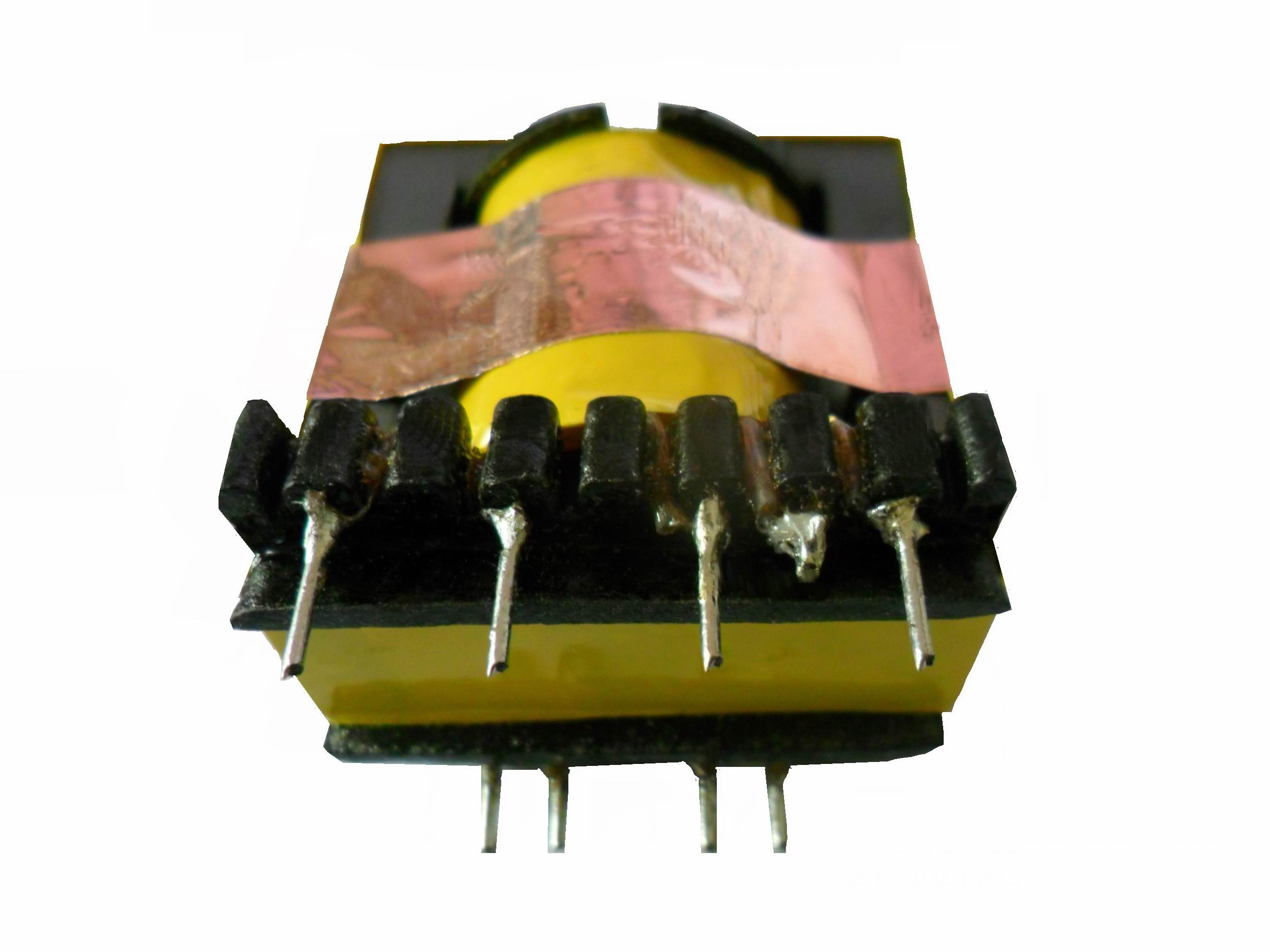 Effect of high-frequency transformer shielding copper-platinum on leakage inductance, parasitic capacitance and EMI.jpg